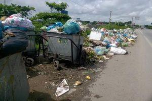 Thủy Nguyên, Hải Phòng: Thiếu kinh phí vận chuyển, rác 'ngập' đường