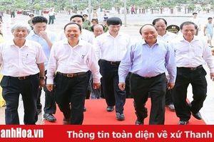 Hình ảnh hoạt động của Thủ tướng Chính phủ Nguyễn Xuân Phúc nhân dịp kỷ niệm 990 năm Thanh Hóa