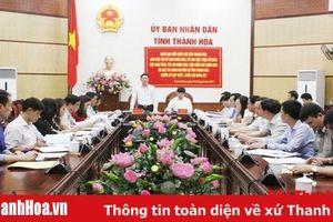 Đoàn ĐBQH tỉnh làm việc với UBND, Ủy ban MTTQ tỉnh và các cơ quan khối tư pháp