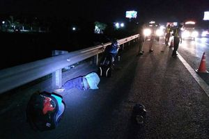 Chạy xe máy vào cao tốc TP.HCM - Trung Lương, nam thanh niên nguy kịch
