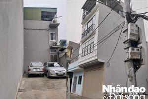 Hoàng Mai - Hà Nội: Tràn lan xây nhà trên đất nông nghiệp ở phường Định Công