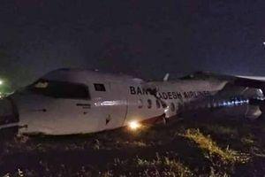 Máy bay trượt đường băng ở Myanmar, 17 người nhập viện