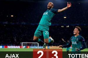 Moura lập hat-trick, Spurs ngược dòng vào chung kết