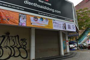 Nhiều người bất ngờ vì chuỗi cửa hàng Nhật Cường mobile đóng cửa