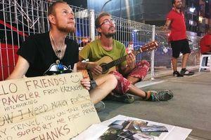 Cho tiền người ăn xin ở Thái Lan có thể bị phạt tù 2 năm
