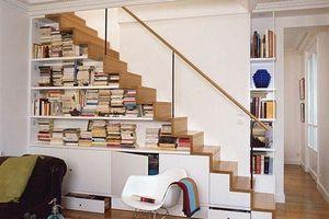 Cách thiết kế cầu thang đa năng cho ngôi nhà diện tích nhỏ