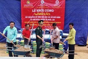 Thừa Thiên - Huế khởi công xây dựng nhà cho dân bản Kô Tài, huyện Sá Muội (Lào)