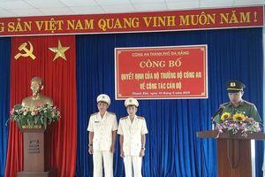 Công an TP.Đà Nẵng điều chuyển nhiều lãnh đạo cấp quận, phòng