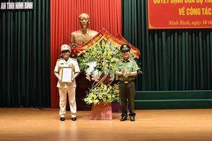 Công an tỉnh Ninh Bình có giám đốc mới