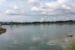 Lật xuồng trên sông Thu Bồn, một người tử vong
