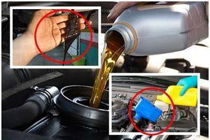 Những 'chiêu lừa' của thợ sửa xe khi yêu cầu thay dầu ô tô