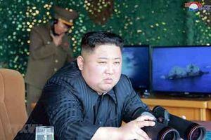 Chủ tịch Kim Jong-un giám sát diễn tập 'tấn công tầm xa'