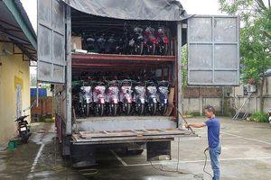 Hưng Yên: Bắt hơn 120 thùng mỹ phẩm và hàng chục xe đạp điện không rõ nguồn gốc