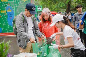 Thanh niên Hà Nội hào hứng tham gia ngày tử tế vì một môi trường không rác thải