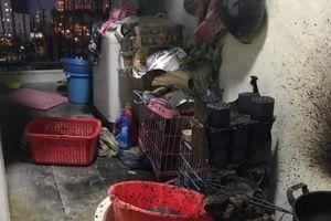 Đun bếp than gây cháy ở chung cư cao cấp, bị phạt 400 ngàn đồng
