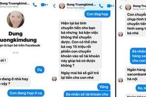 Mất 15 triệu đồng vì 1 tin nhắn trên Facebook