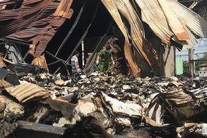 Cháy kho lưu trữ tài liệu xe buýt: Công an vào cuộc điều tra