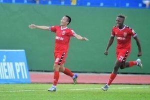 Vòng 9 V-League: Tấn Trường giữ sạch lưới, Becamex Bình Dương đánh bại CLB Sài Gòn
