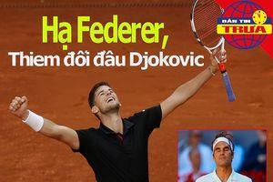 VĐV Mỹ bị lao đâm xuyên lưng; Federer gục ngã ở Madrid
