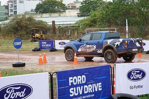 Chuỗi ngày hội lái thử xe miễn phí - Ford SUV Drive