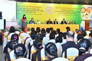 Hội thảo chủ đề Vesak 2019 dành cho các học giả Việt Nam