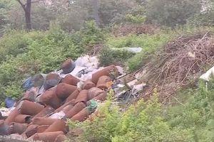 Đẩy lùi hành vi đổ trộm chất thải ra môi trường