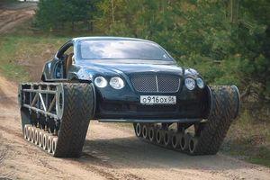 Biến Bentley Continental GT thành 'xe tăng'