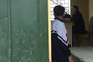 Câu chuyện sau bức ảnh cô bắt trò quỳ trong lớp học