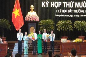 Thành phố Hồ Chí Minh có thêm hai Phó Chủ tịch UBND
