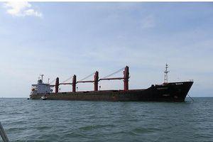 Mỹ bắt giữ tàu chở hàng 17.000 tấn của Triều Tiên