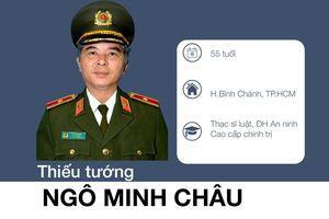 Thiếu tướng Ngô Minh Châu được giới thiệu làm Phó chủ tịch UBND TP.HCM