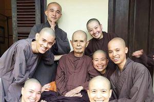 Thiền sư Thích Nhất Hạnh vào Đà Nẵng tịnh dưỡng