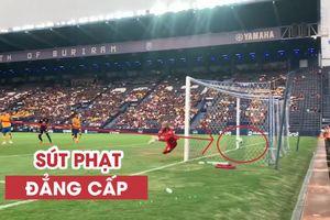 Xuân Trường sút phạt đẳng cấp, mở tỉ số trận đấu cho Buriram United