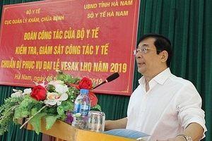 Đại lễ Phật đản: Chăm sóc sức khỏe đại biểu quốc tế ngay khi đến Việt Nam