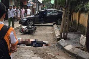 Danh tính chủ nhân chiếc xe lùi khiến một người chết ở Hà Nội