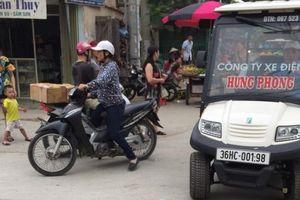 Thanh Hóa: TP Sầm Sơn thừa nhận có xe điện trái phép 'tung hoành' trên đường phố