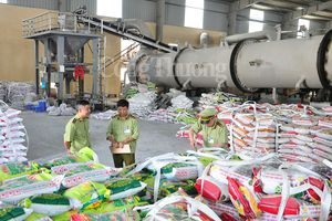 Phối hợp đồng bộ ngăn chặn hoạt động sản xuất, kinh doanh phân bón giả, kém chất lượng