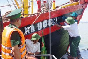 Biên phòng Nghệ An cùng ngư dân bám biển