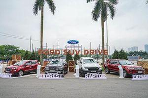Trải nghiệm xe ô tô Ford với Chương trình lái thử Ford SUV Drive