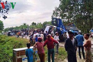 Tai nạn liên hoàn, xe ùn ứ trên tuyến tránh Nam Hải Vân