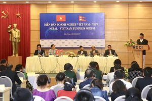 Hợp tác kinh tế Việt Nam - Nepal có tiềm năng rất lớn