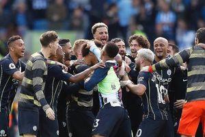 Man City đăng quang Premier League, Liverpool hạng nhì vĩ đại