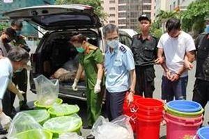 Bắt giữ nhóm người nước ngoài vận chuyển 500 kg ma túy tổng hợp tại Thành phố Hồ Chí Minh