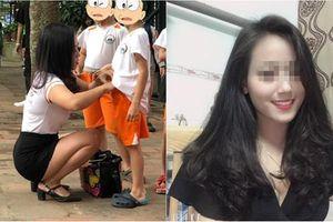 Cô giáo gây bão mạng MXH vì quá xinh, khiến các bố tranh nhau đi đón con