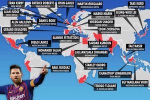 Thế giới có 24 phiên bản 'Messi', bóng đá Đông Nam Á sở hữu 3