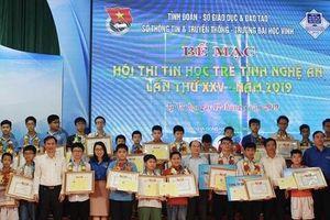 4 học sinh xuất sắc tham gia Hội thi tin học trẻ toàn quốc