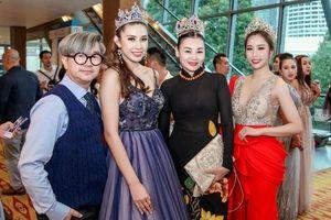Stella Đào gợi cảm trên ghế giám khảo Hoa hậu Sắc đẹp Toàn cầu châu Á