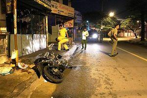 Lái xe về sau cuộc nhậu, hai người gặp tai nạn thương vong