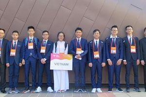 8/8 thí sinh Việt Nam đoạt huy chương tại kỳ thi Olympic Vật lí châu Á năm 2019