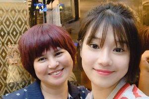 Dù tất bật trên phim trường, Hoàng Yến Chibi vẫn không quên ngày của mẹ